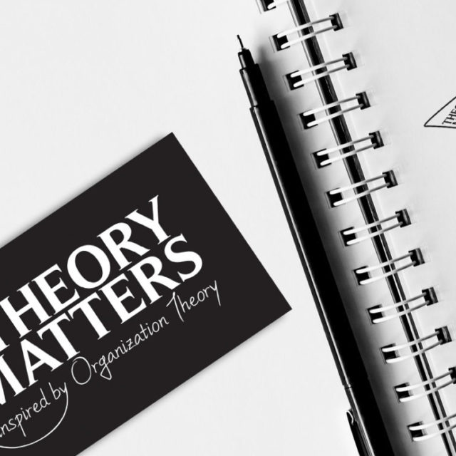 Design graphique logo Theory Matters