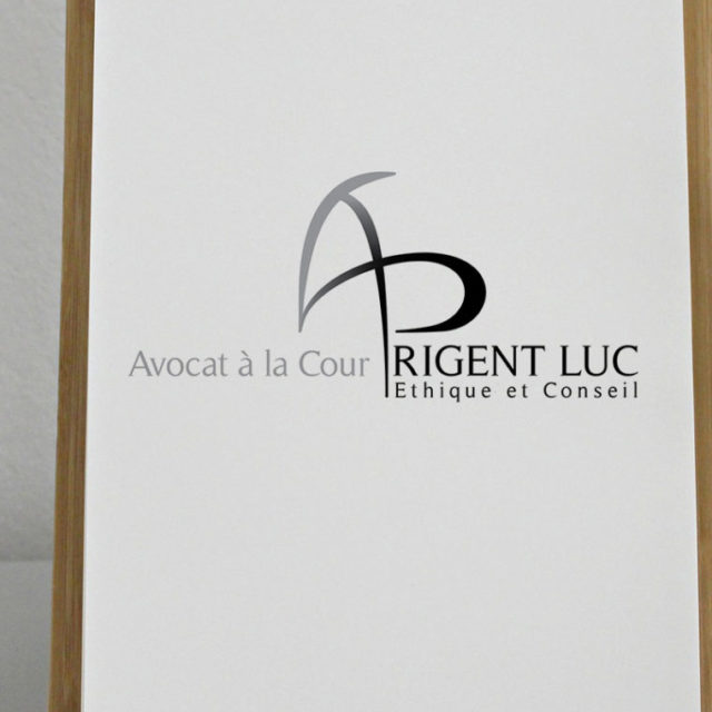Design graphique logo Prigent Luc Avocat