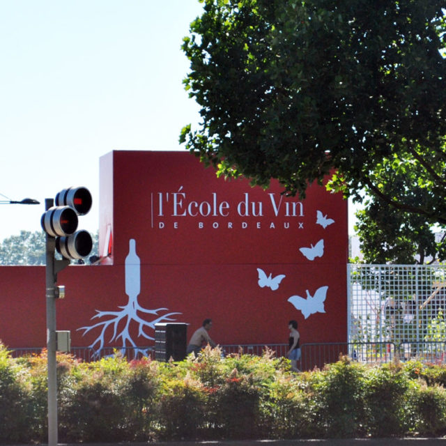 Graphisme façades Pavillon EDV 2016