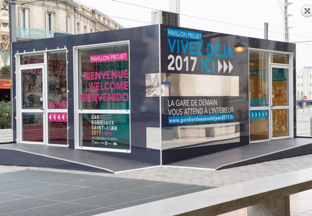 Extérieur Maison du projet RFF Bordeaux