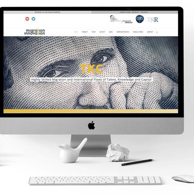 design web TKC / migration innovation