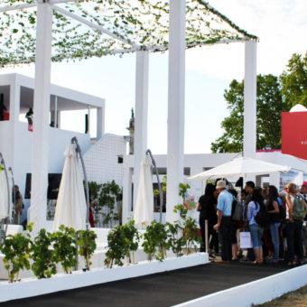 Pavillon EDV 2014 vue entrée