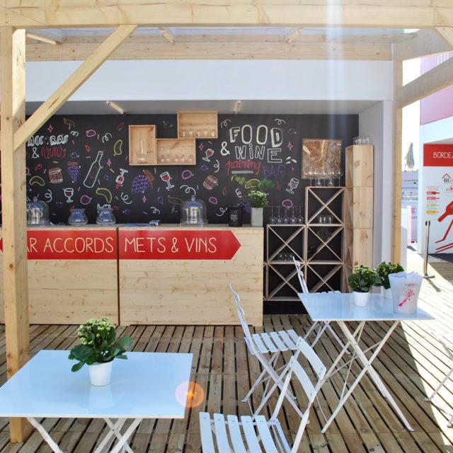 design d'espace pavillon EDV-Fête du Vin 2016