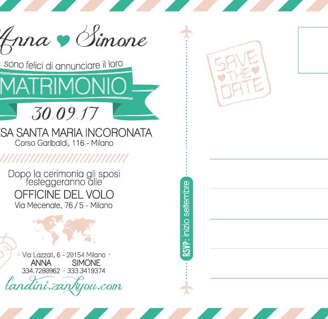 design graphique invitation mariage