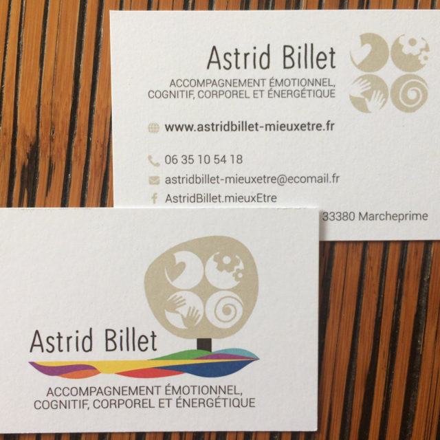 design graphique logo et carte de visite