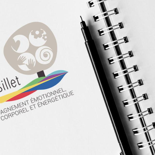 design graphique logo Astrid Billet