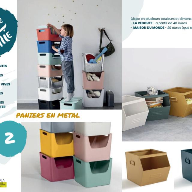 moodboard boîte metal aménagement étal Roule Canaille