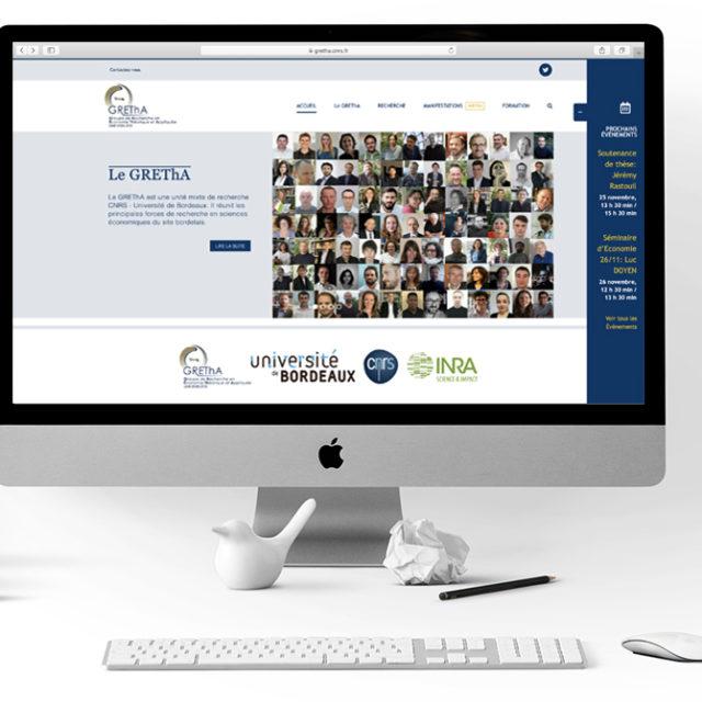 GREThA conception site internet