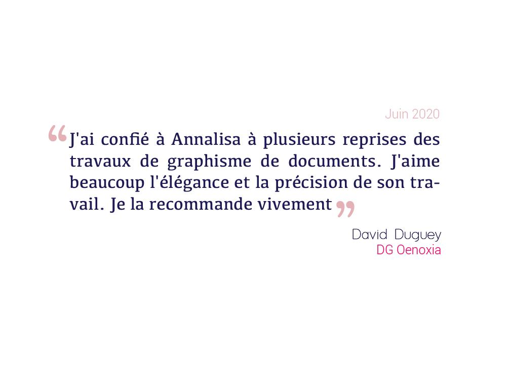 ttémoignage David Duguey